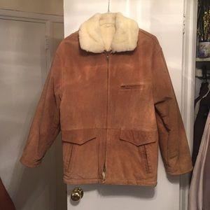Bill Blass shearling men's coat